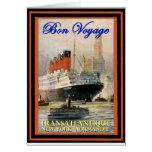 Vintage Travel Poster Card