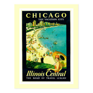 Vintage Travel Poster, Chicago, Illinois Postcards