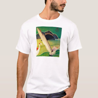 Vintage Travel Poster Donostia San Sebastian T-Shirt