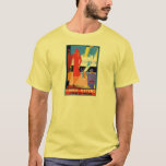 Vintage Travel Poster: Dover Ostend T-Shirt