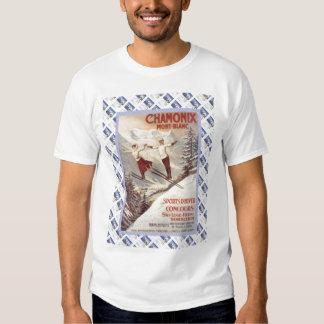 Vintage travel poster,Ecole de Ski Shirt