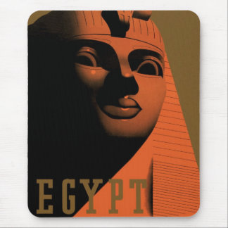 Vintage Travel Poster, Egypt, Africa with Sphinx Mouse Pad