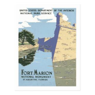 Vintage Travel Poster,Florida Postcard