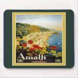 Vintage Travel Poster For Italy Mousepad