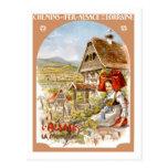 Vintage Travel Poster,France Post Cards