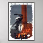 Vintage Travel Poster Gorny Slask Poland
