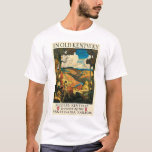 Vintage Travel Poster, In Old Kentucky, NC Wyeth T-Shirt