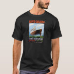 Vintage Travel Poster: Italian Ocean Liner T-Shirt
