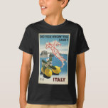 Vintage-Travel-Poster-Italy-2 T-Shirt