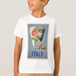 Vintage-Travel-Poster-Italy-5 T-Shirt