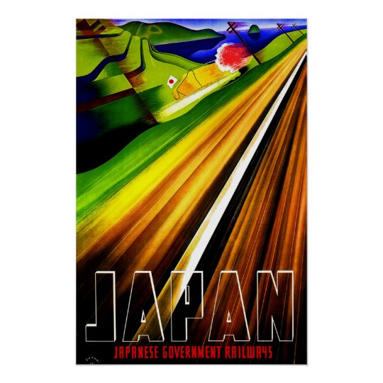 Vintage Travel Poster Japan Railways 2