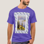 Vintage travel poster, Lac d'Annecy T-Shirt