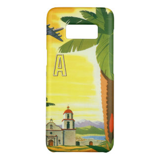 Vintage Travel Poster, Los Angeles, California Case-Mate Samsung Galaxy S8 Case