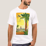Vintage Travel Poster, Los Angeles, California T-Shirt