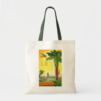 Vintage Travel Poster, Los Angeles, California Tote Bag