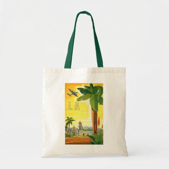 Vintage Travel Poster, Los Angeles, California Tote Bag