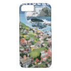 Vintage Travel Poster, Map of Nantucket Island, MA iPhone 8/7 Case