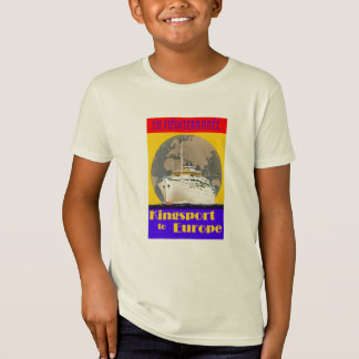 Vintage Travel Poster - Mediterranean T-Shirt