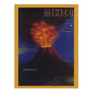 Vintage Travel Poster - Mexico circa 1943 Postcard