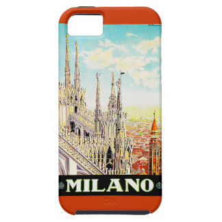 Vintage Travel Poster Milano, Italy iPhone 5 Cover