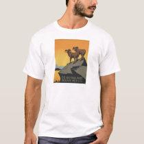 Vintage Travel Poster National Parks America USA T-Shirt
