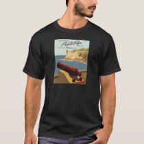 Vintage-Travel-Poster-Puerto-Rico T-Shirt