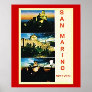Vintage Travel poster, Republic of San Marino Poster