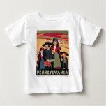 Vintage-Travel-Poster-Rural-Pennsylvania Baby T-Shirt