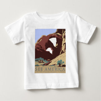 Vintage-Travel-Poster-Southwest-America-USA Baby T-Shirt