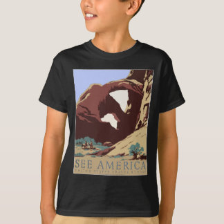 Vintage-Travel-Poster-Southwest-America-USA T-Shirt