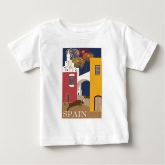 Vintage-Travel-Poster-Spain Baby T-Shirt