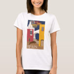 Vintage-Travel-Poster-Spain T-Shirt