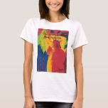 Vintage travel poster Statue of Liberty NYC t shir T-Shirt