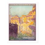 Vintage Travel Poster,Strasbourg Post Cards