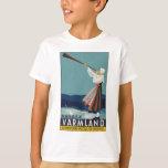 Vintage-Travel-Poster-Sweden T-Shirt