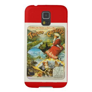 Vintage Travel poster, Thermes de Cauterets Galaxy S5 Case