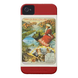 Vintage Travel poster, Thermes de Cauterets iPhone 4 Cover
