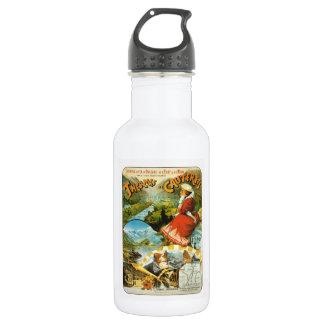 Vintage Travel poster, Thermes de Cauterets Water Bottle