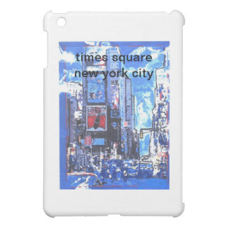 Vintage travel poster Times Square N Y City Cover For The iPad Mini