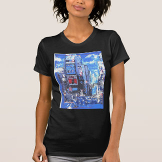 Vintage travel poster Times Square N Y City T-Shirt