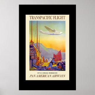 Vintage Travel Poster Transpacific