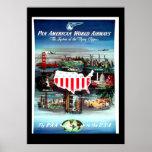Vintage travel Poster USA Poster