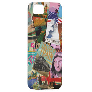 Vintage Travel Posters iPhone 5 Cases