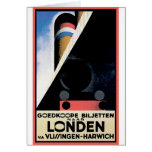 Vintage Travel Posters: London Vlissingen