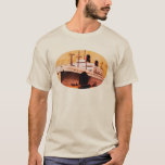 Vintage Travel Posters: Ocean Liner China T-Shirt