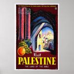 Vintage Travel Posters - Palestine, Jerusalem
