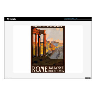"Vintage Travel Rome Italy 1920 15"" Laptop Skins"