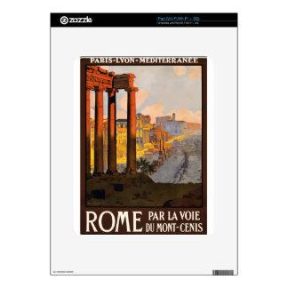 Vintage Travel Rome Italy 1920 iPad Decal