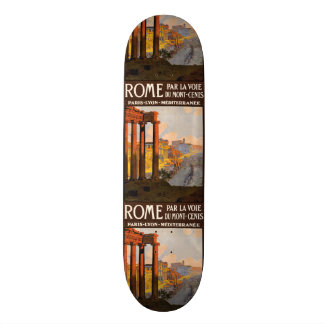 Vintage Travel Rome Italy skateboards