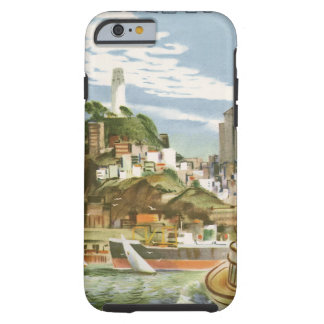 Vintage Travel San Francisco Bay Ferry Boat Tough iPhone 6 Case